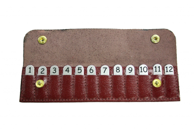 Bisley Position Finders Wallet 1-12