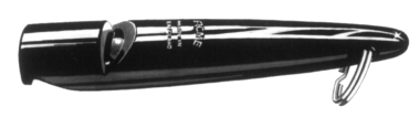 Acme Dog Whistle - 210 (Black)