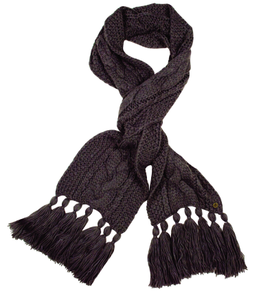 Tayberry Alice Plait Cable Scarf