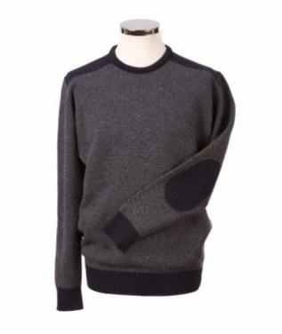 Hawick Knitwear Birdseye Crew Neck Pullover - Small