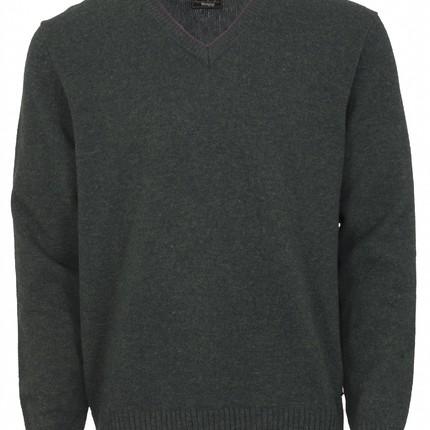 Toggi Rye Classic V Neck Sweater (Olive)