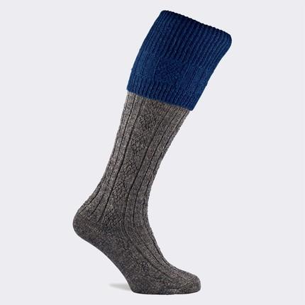 Pennine Defender Premium Wool Shooting Sock (Sapphire)