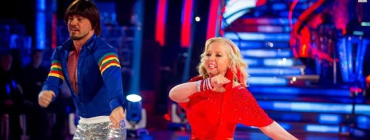 Week 4 Strictly Come Dancing...The Jive