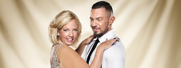 Deborah talks about her time on Strictly Come Dancing