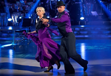 Deborah waltzes out of Strictly Come Dancing