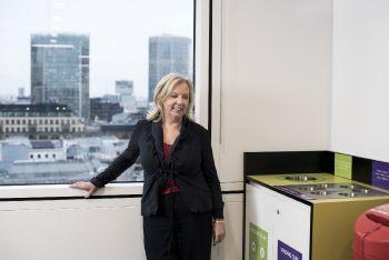 Deborah visits Financial firm UBS