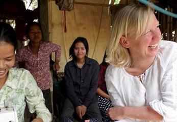 Deborah travels to Cambodia to support entrepreneurs