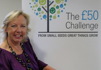 Deborah backs Children's Hospice SW £50 Challenge