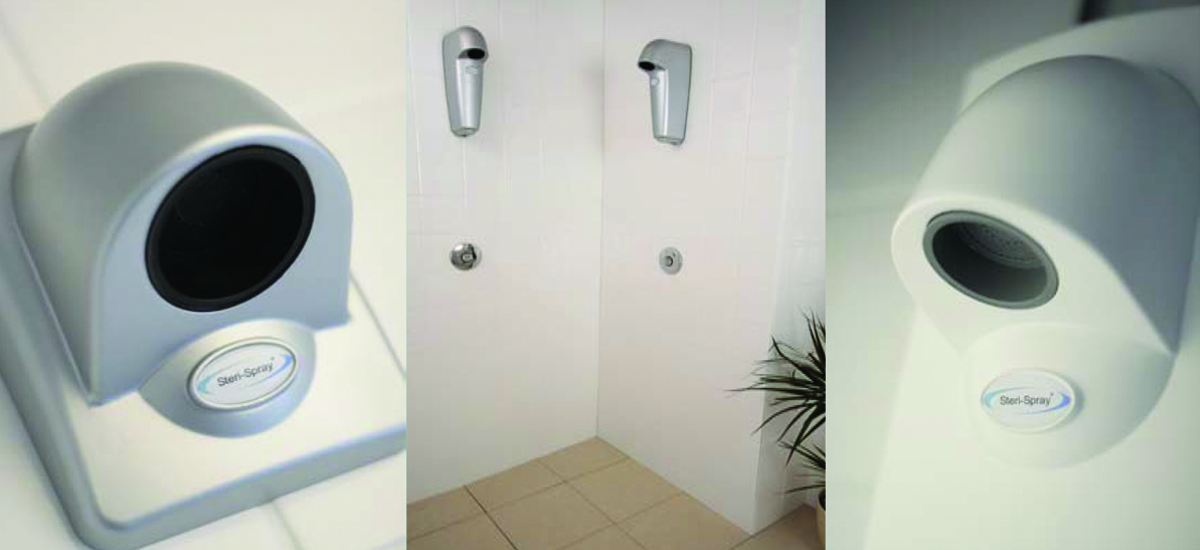 Steri-Spray showers endorsed by the UK's largest NHS trust