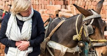 Horse charity that aids poor by Deborah Meaden