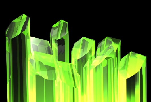 Green crystals iStock_000007293761_Small