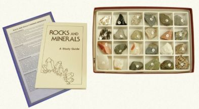 Rocks and Rock Forming Mineral Collection