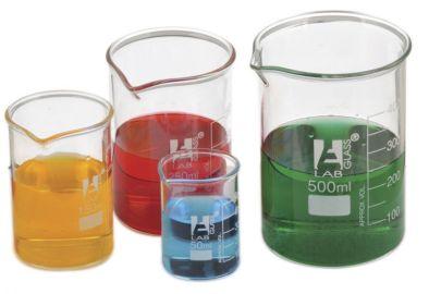 Beaker, Borosilicate Squat  250ml (Single)