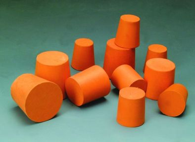Rubber Stopper Solid 21x24.5x28 (Pk10)