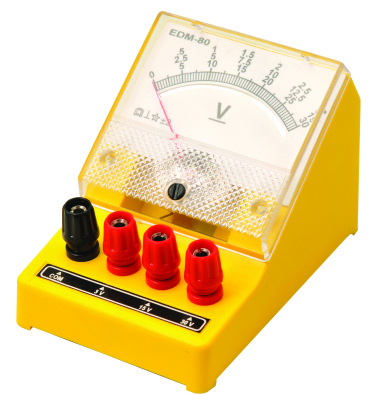 Voltmeter, Single Range, 0 - 6v