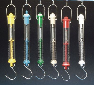 Forcemeter Tubular Balance 250g/2.5N Blue