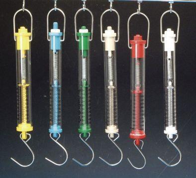 Forcemeter Tubular Balance 1kg/10N Beige