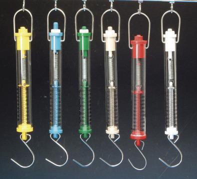 Forcemeter Tubular Balance 5kg/50N Yellow