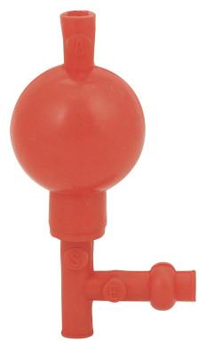 Pipette Filler Bulb Type (Red)    (Pk10)