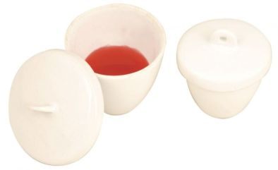 Crucible with lid - 15ml/40mm