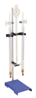 Hoffman Voltameter (PTFE) with electrodes
