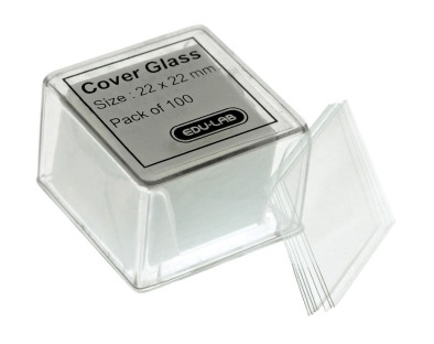 Micro Cover Glass 22x22mm (Pk100)