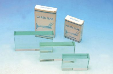 Prism - Clear Glass Rectangular Block 115x65x18mm