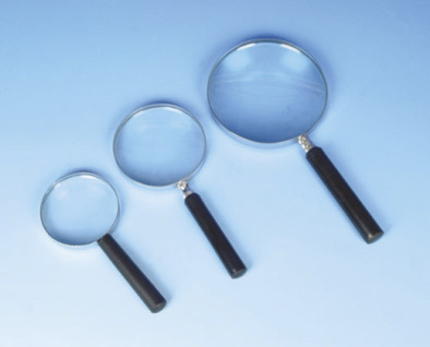 Magnifier, Reading Glass Metal Frame 10/15cm