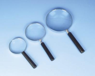 Magnifier, Reading Glass Metal Frame 10/20cm