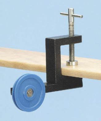 Pulley, Bench mounting, ball bearing, nylon
