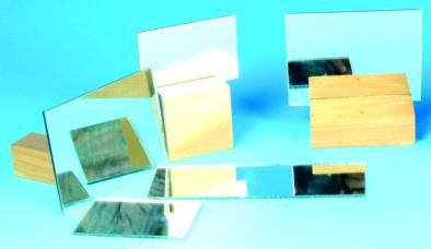 Mirror, Plane Glass, Unmounted, 75x50mm (Pk10)