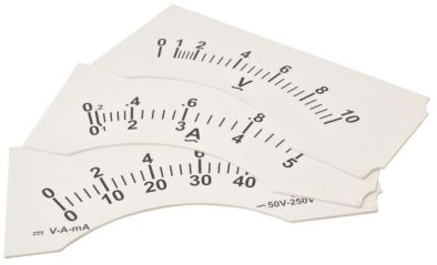 Demonstration Meter. Dial 10-0-10mA DC