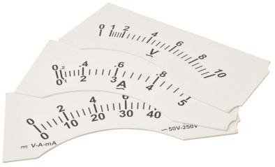 Demonstration Meter. Dial 0-50V AC