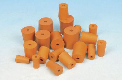 Rubber Stopper 1 Hole 19x22.5x28 (Pk10)