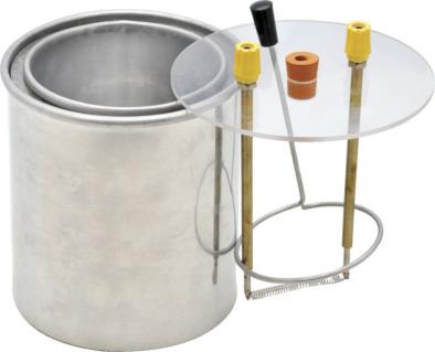 Calorimeter Set, Aluminium