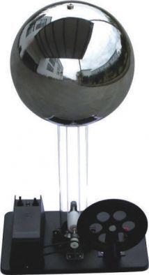 Van de Graaff Generator (motor or hand driven) - Edulab