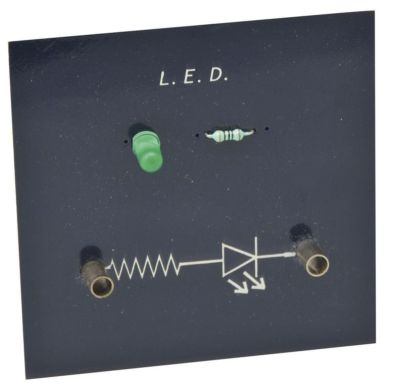 Simple Circuit Module LED Board, Green