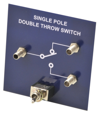 Simple Circuit Module Single Pole Double Throw Switch
