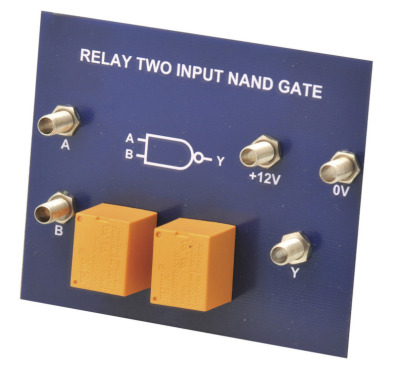 Simple Circuit Module Relay NAND Gate