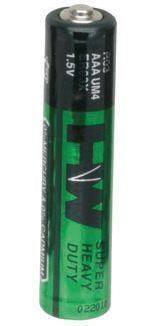 Battery, AAA, Zinc Carbon