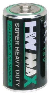 Battery, D, Zinc Carbon