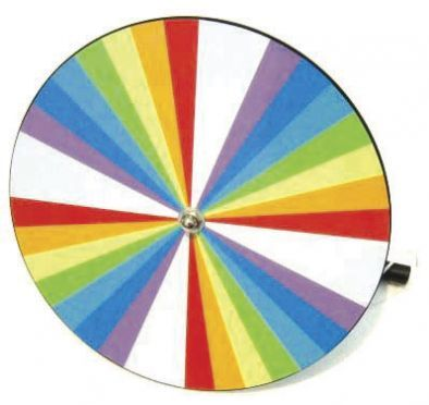 Newton's Colour Disc, Hand Spin Model