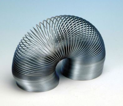 Metal Slinky, Helical Spring, 150mm Closed Length