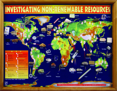 Investigating Non Renewable Resources Chart