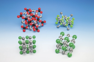 Molecular model, Pre-assembled, Calcium Fluoride (Fluorite)