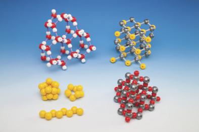 Molecular Model Kit, Sulfur (Three Molecules S8)