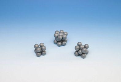 Molecular Models, Pre-Assembled, Iron, Zinc, And Copper