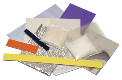 Plastics sample pack