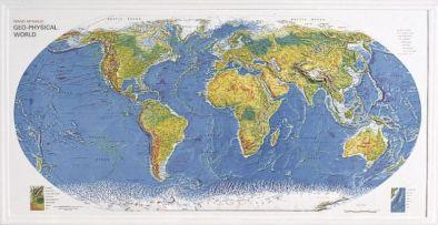 World Geophysical Map