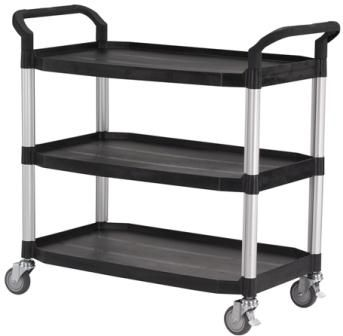 Laboratory Trolley - 3 Shelf, Large, 250KG